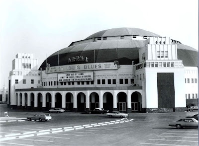 St. Louis Arena photo circa 1970's