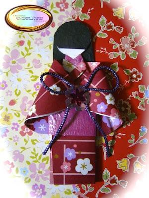 Японский мастер класс оригамие сделай сам #8