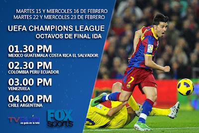 Regresa la Uefa Champions League en FOX Sports