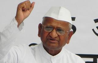anna hazare photos