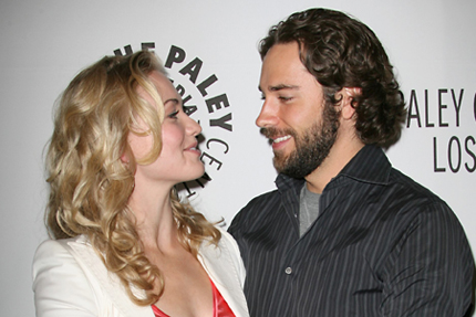 Zachary Levi and Yvonne Strahovski are.