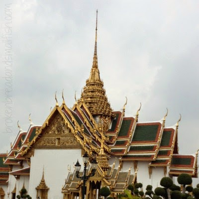 Broken Bread and Small Fish blog - Grand Palace in Thailand