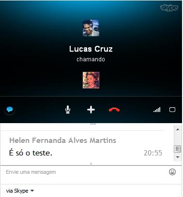 Skype ligando