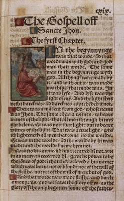Tyndale's English translation of the Bible, from wikipedia commons