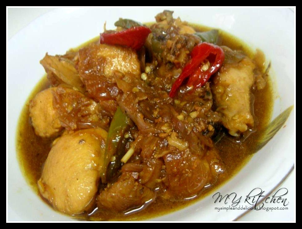 My Kitchen My Kitchen My Kitchen Ayam Masak Tauco