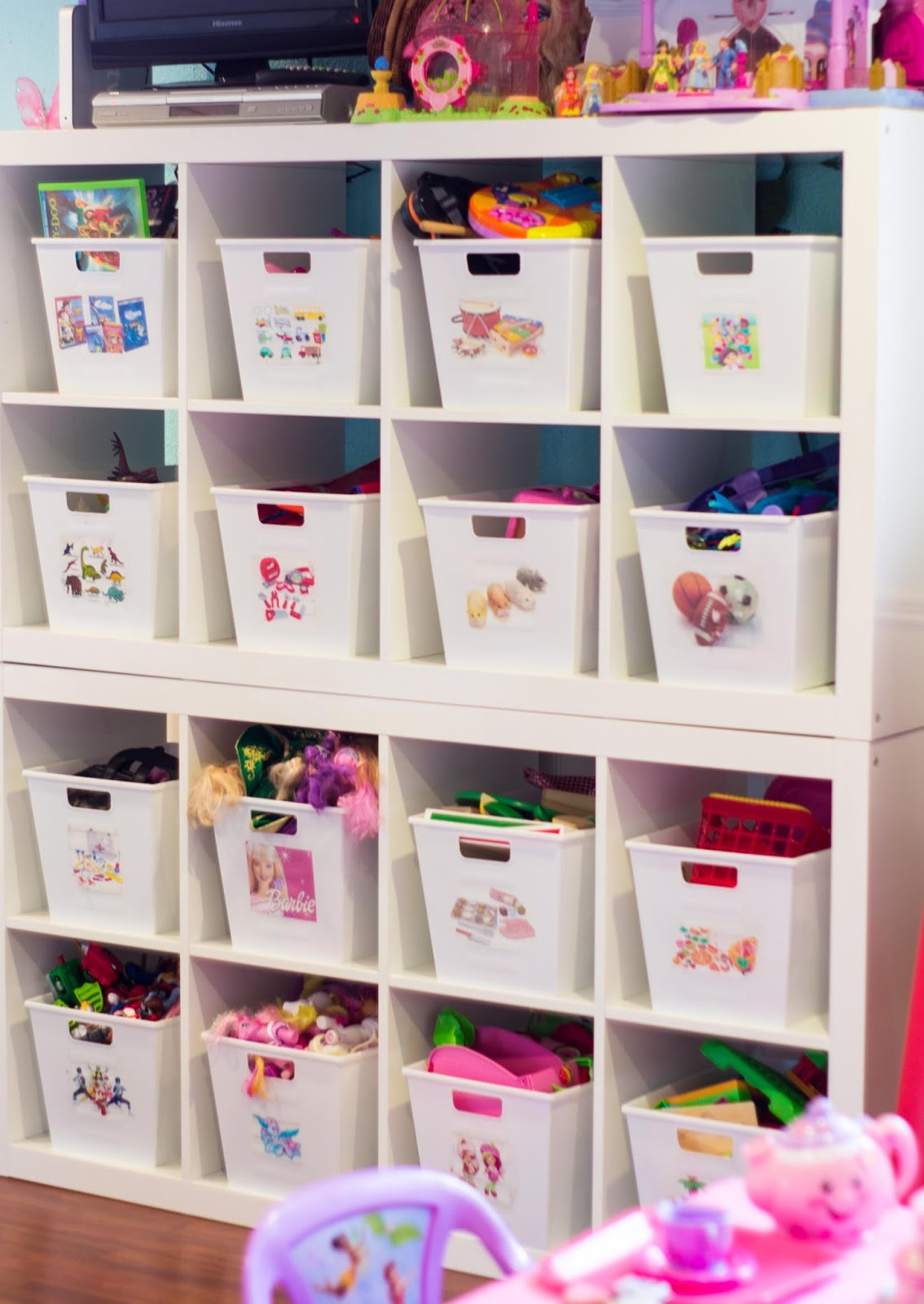 The beauty of the best house how to organize kids room for Best storage for small bedrooms