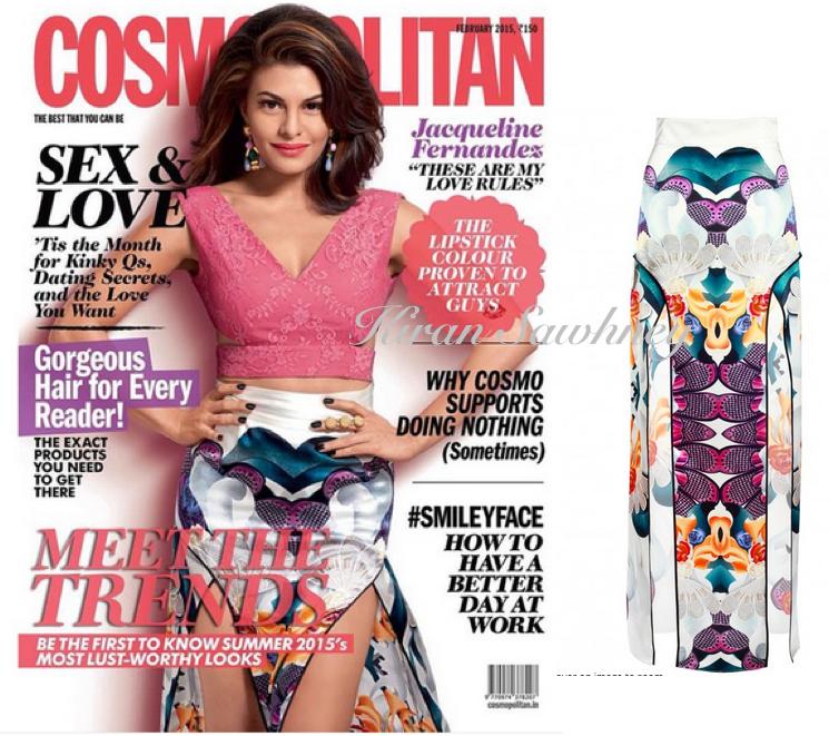 Jacqueline Fernandez on Cosmopolitan