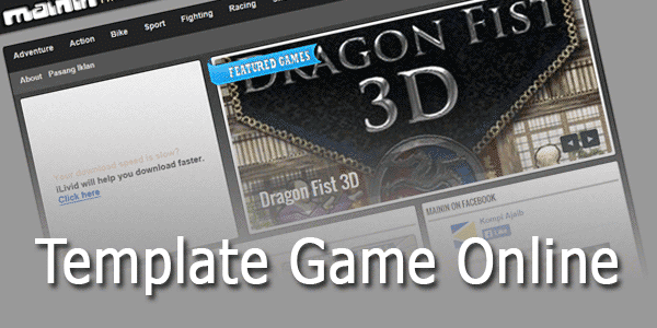 Template Blog Game Online Valid HTML5 dan CSS3