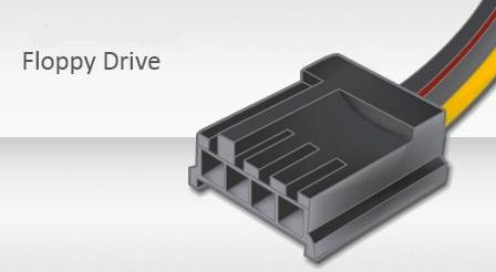 Conector Floppy Drive