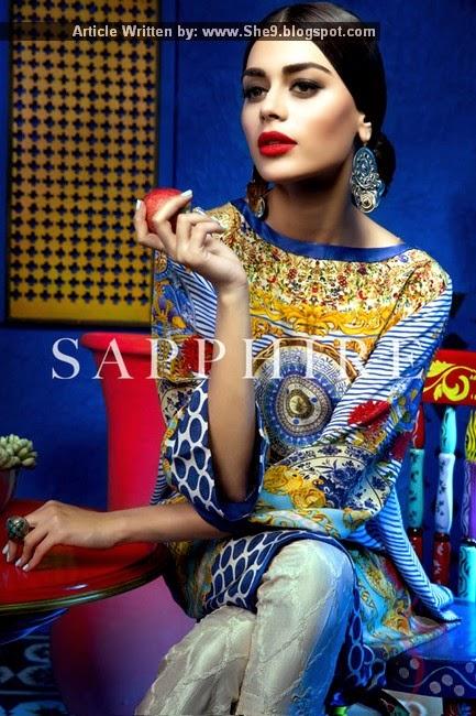 Sapphire Pret 2015 by Khadijah Shah