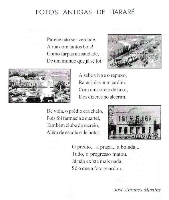 Poema Premiado de Itararé, Elos Clube de Itararé