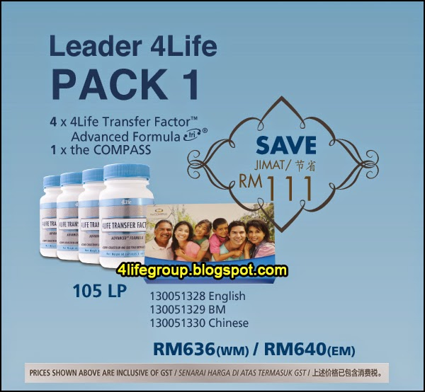 foto Leader 4Life Pack 1 4Life Malaysia