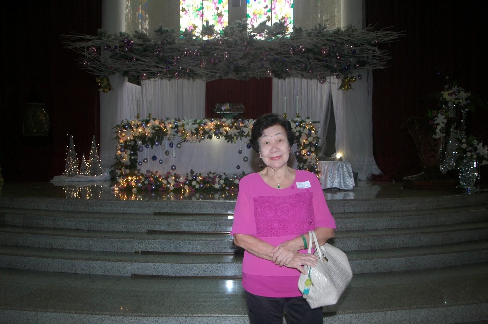 Perayaan Natal MKK - 25 Desember 2013 - Misa Lansia