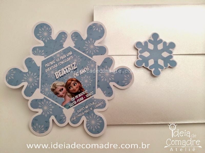 convites frozen