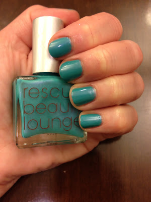 Rescue Beauty Lounge, Rescue Beauty Lounge nail polish, Rescue Beauty Lounge nail lacquer, Rescue Beauty Lounge swatches, Rescue Beauty Lounge nail polish swatches, Rescue Beauty Lounge manicure, swatches, nail polish swatches, nail, nails, nail polish, polish, lacquer, nail lacquer, Rescue Beauty Lounge Aqua Lily