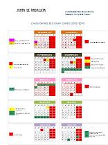 Calendario 2012-13 Granada