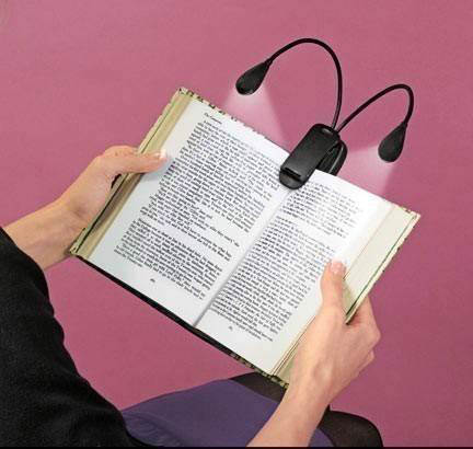 Creative Reading night lamp, LED lamp clip for reading book during night, Innovative Night lamp, Book clip with reading lamp, Interesting design for reading lamp, night lamp design, Creativity lamp, mobile lamp with twin lights to read book on traveling