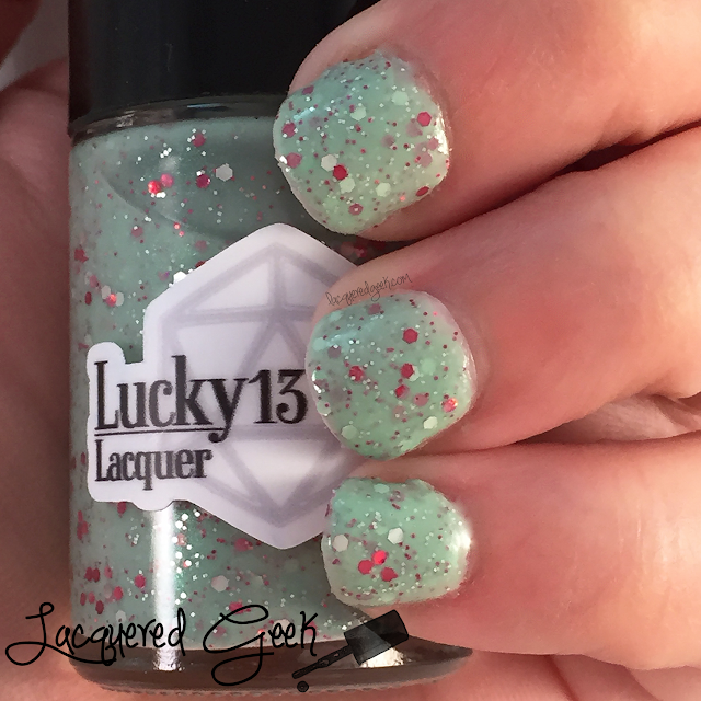 Lucky 13 Lacquer No Power in the 'Verse Can Stop Me nail polish swatch from Lacquered Geek