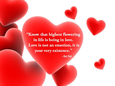 Quotes by Sri Sri Ravi Shankar on Love