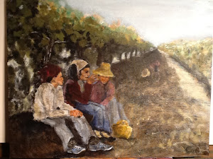 Women in Vineyard