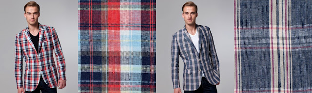 Indochino Derby Plaid Blazers