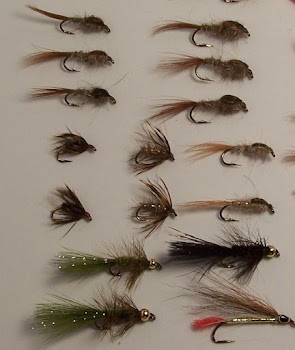 Chuck Kashner custom tied flies