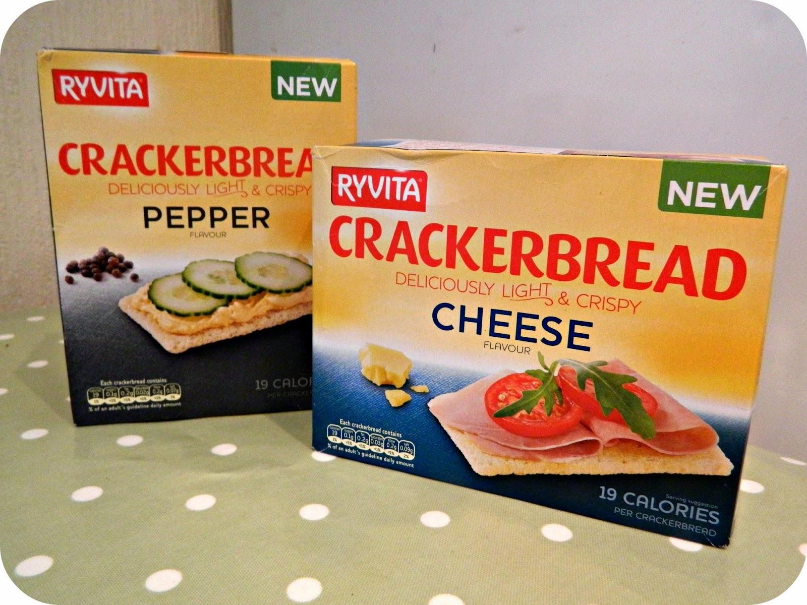 Ryvita Crackerbread Cheese and Pepper