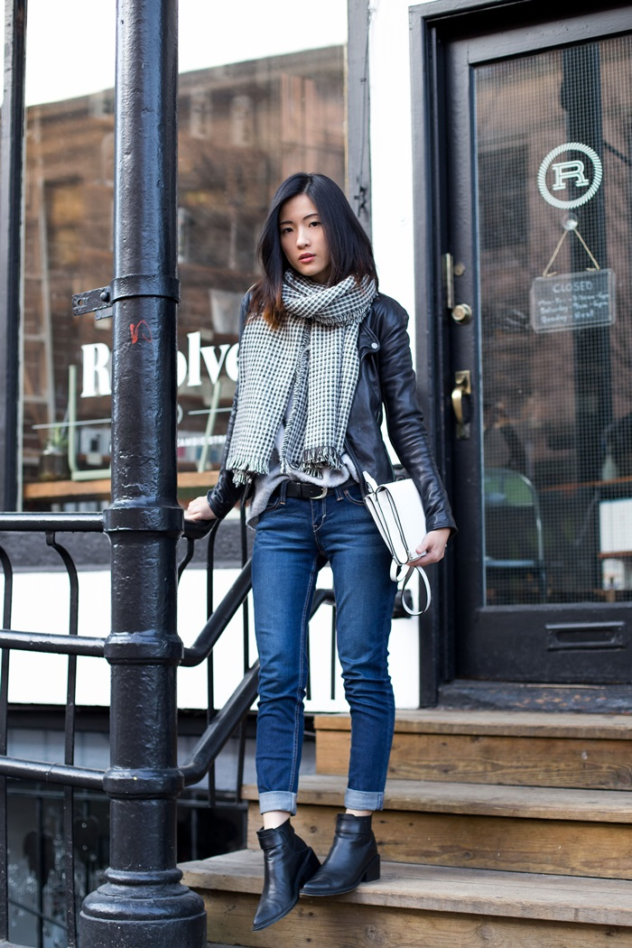 von vogue zara jacket and jeans