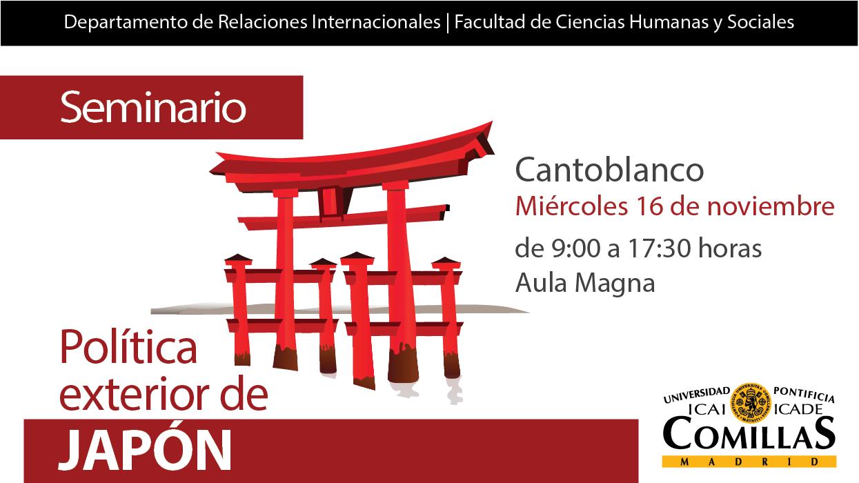 Seminario de Política Exterior. Japón