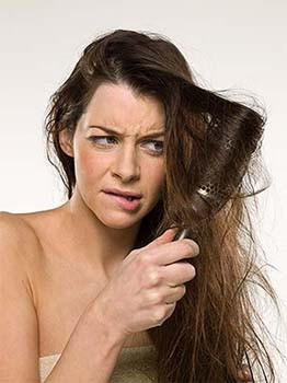 Das Umsteigen des Haares in krasnojarske