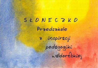 """Przedszkole waldorfskie """"SŁONECZKO"""""""