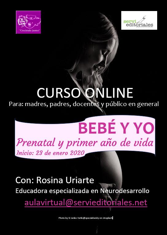 curso online BEBÉ Y YO