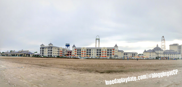 Panoramic view of @CedarPoint Resorts Hotel Breakers #bloggingatCP
