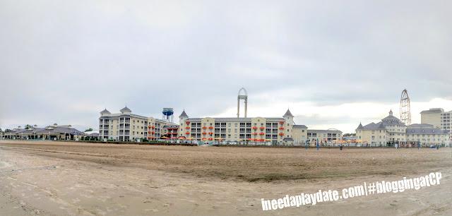 Panoramic view of @CedarPoint Resorts Hotel Breakers #bloggingatCP