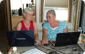 Nancy and Jan take to the blog world together.