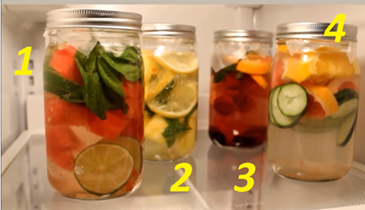 10+ Manfaat Infused Water Lemon, Kurma, Sampai Jahe