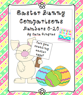 Kindergarten boom boom comparing numbers 0 20 freebie for What is the easter bunny s phone number