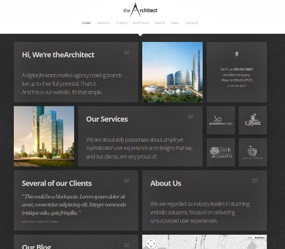 theArchitect Responsive WordPress Theme for Business