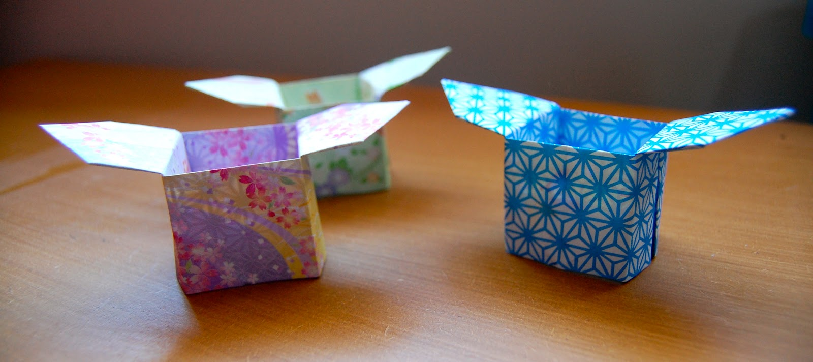How To Make An Origami Box With Flaps