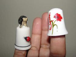 para origami, não usamos dedais, mas esses são tão lindos...