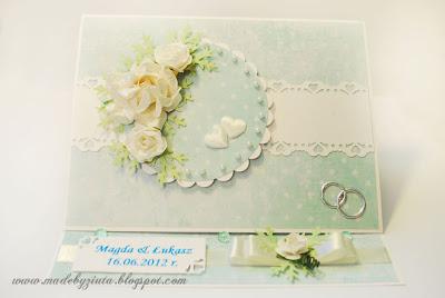 kartki okolicznościowe kartka typu sztalugowa kartka weselna na ślub, wesele