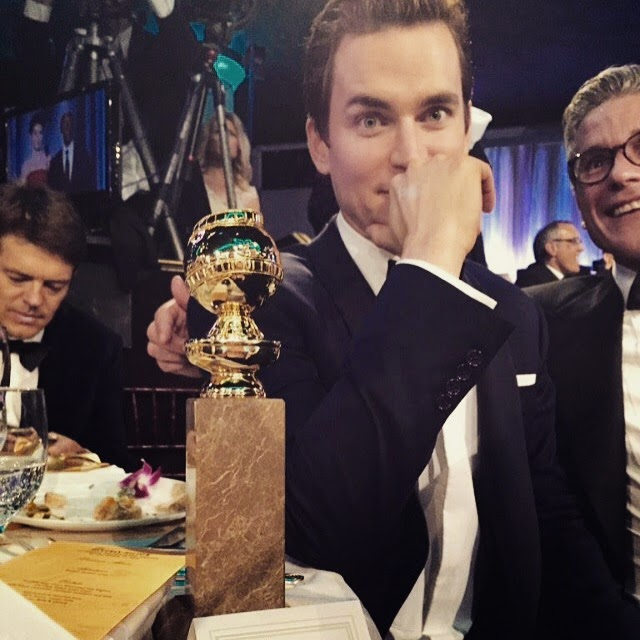 Matt Bomer Golden Globes