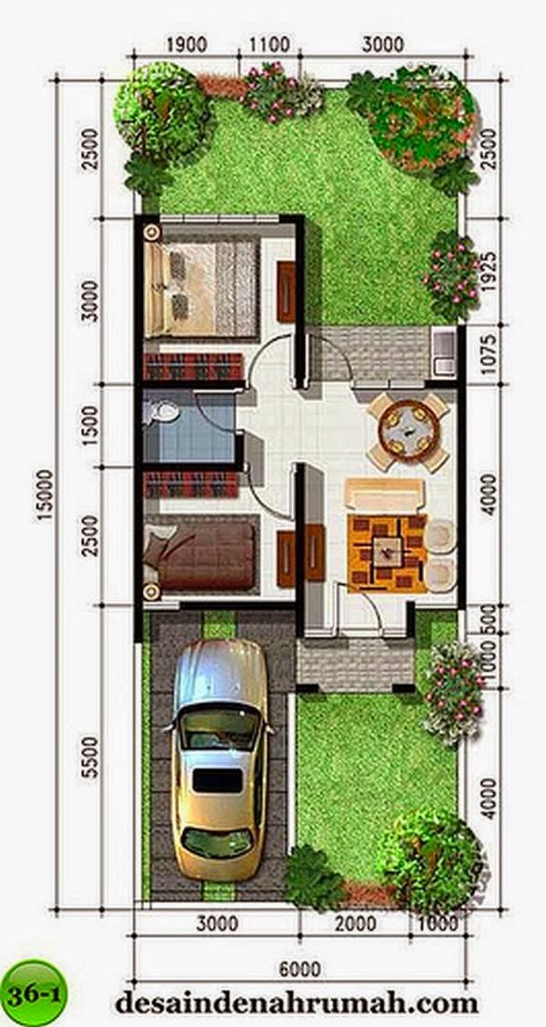 Rumah minimalis Type 36 7
