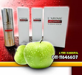 Pengedar L'AROME APPLE STEM CELL SLIMMING SERUM