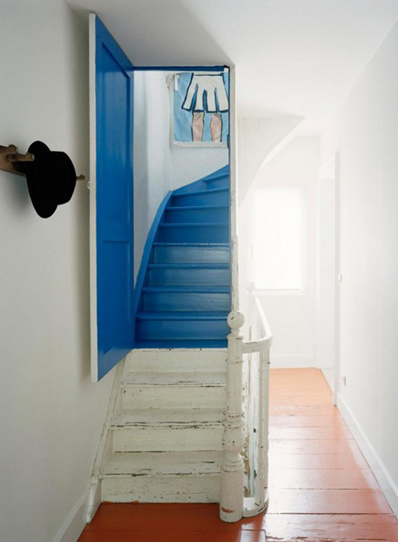Nautical inspired staircases | Design by 51N4E, photo by Ake Lindman