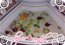 Gambar Resep Masakan Lodeh Terung, Jagung Putri dan Wortel Dapur Cantik