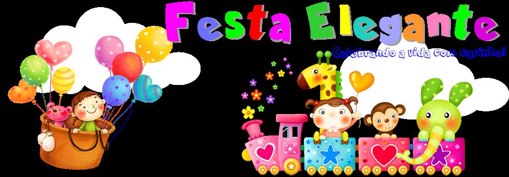 FESTA ELEGANTE DECORAÇÃO PARA FESTAS INFANTIS