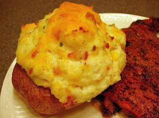 Twiced Baked, Double Stuffed Potatoes