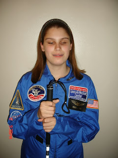 Shelby at Space Camp