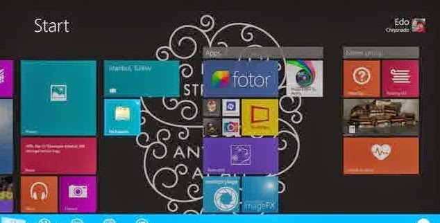 Cara Mengganti Icon dan Nama Tile Start Screen di Windows 8 & 8.1
